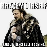 Parol Evidence