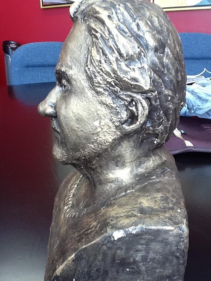 Bust of Trevor Todd