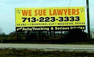 Sue the lawyer