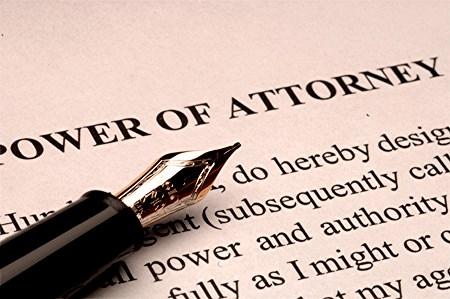 Powewr of attorney
