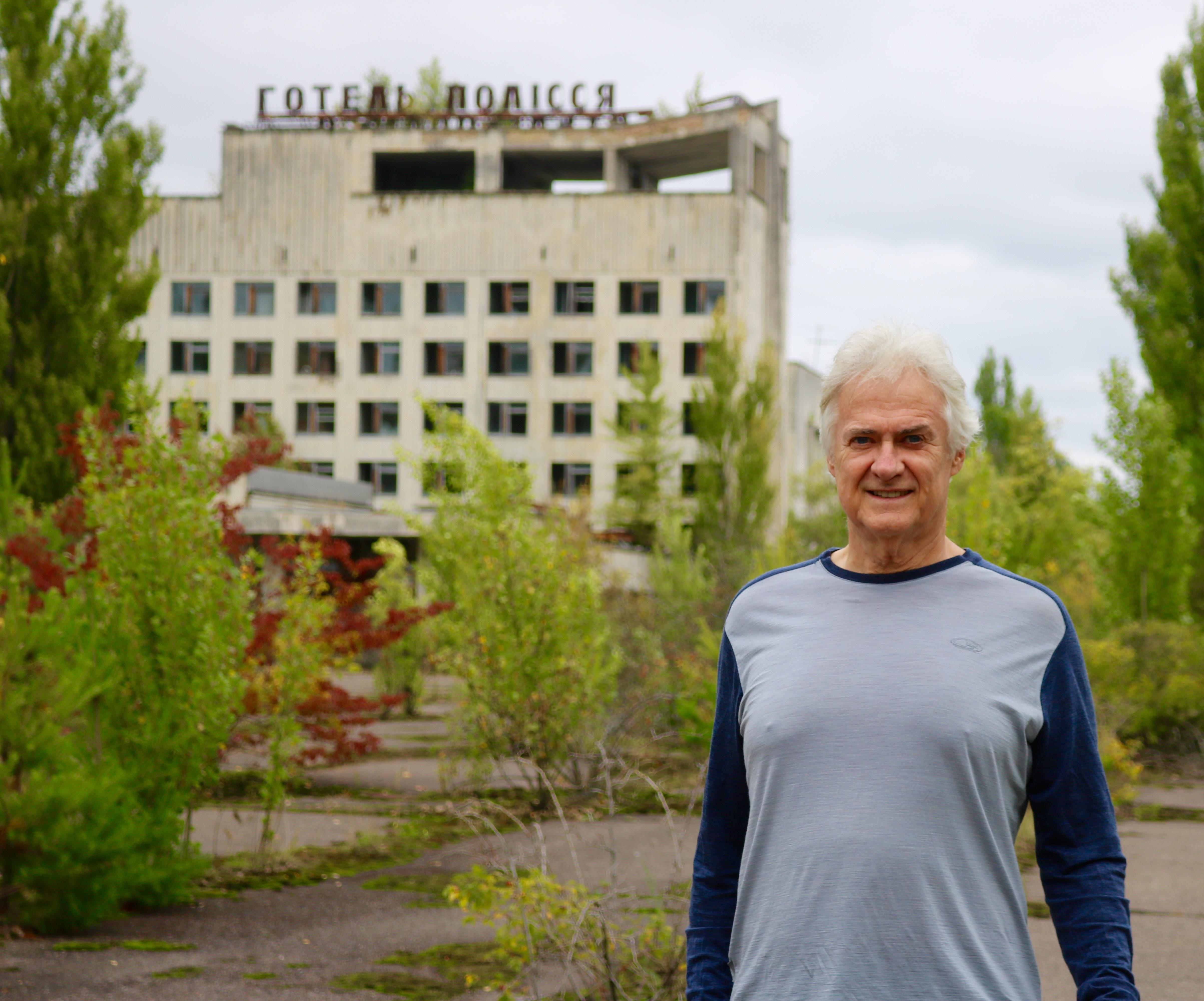 Trevor Todd at Pripyat