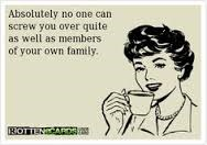Dysfunctional Families Screw You Up