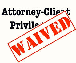 Solicitor Client Privilege