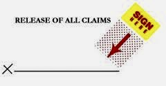 Release of Claims and Different Claim