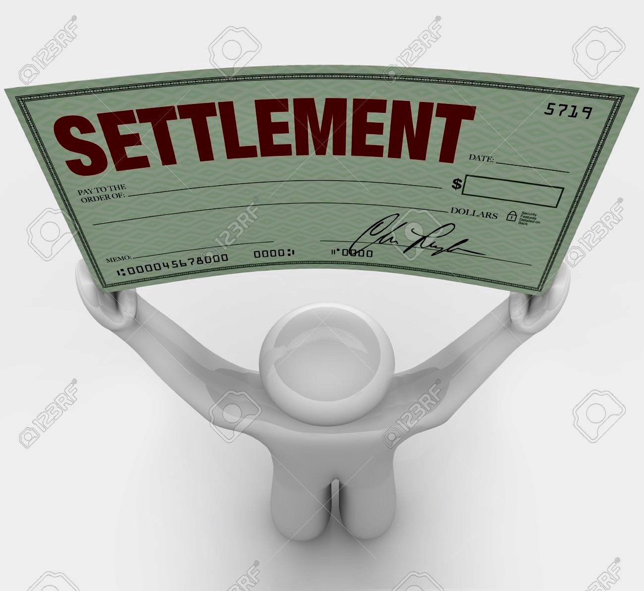 Entering into Settlement Agreements