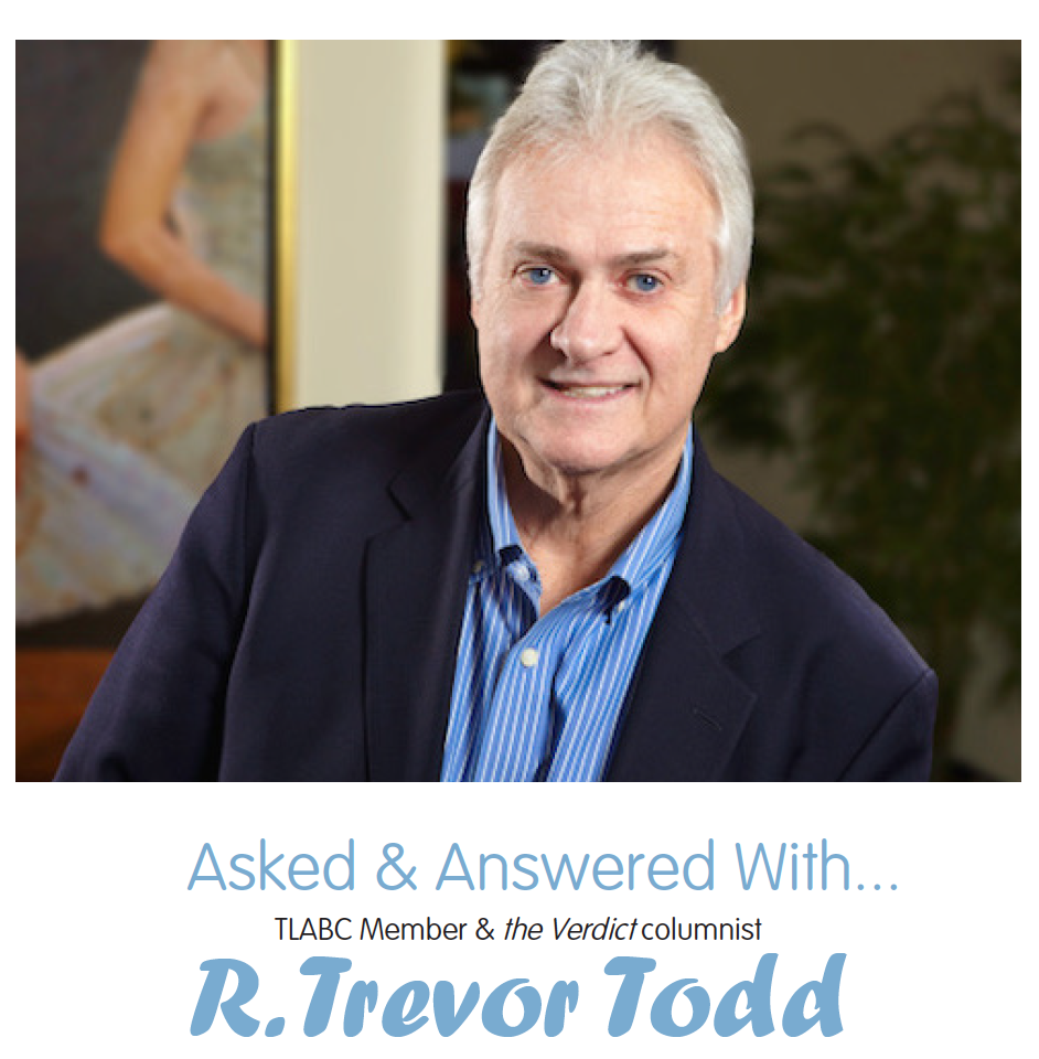 Interview: Ask & Answered With R. Trevor Todd