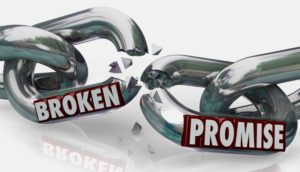Broken Promises and Reliance Thereon