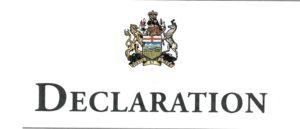 Declaratory Judgements/Judicial Declarations