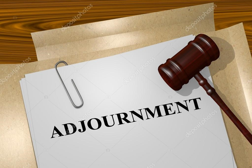 Adjournment of a Trial